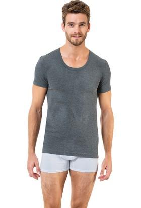Elegant Öztaş Underwear 1091-A Erkek Açık Yaka Fanila