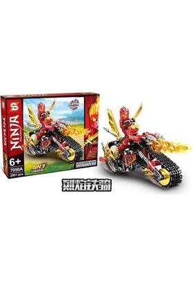 Elifeshop ES7056-A LEGO Seti Ninjago Ninja Dragon Serisi 200 Parça