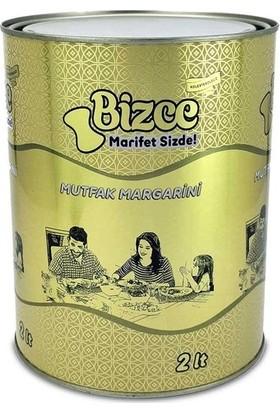 Bizce Yemeklik Susuz Margarin 2 Lt Teneke