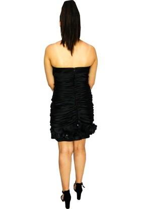Proto Bayan Abiye Elbise Kısa 77008