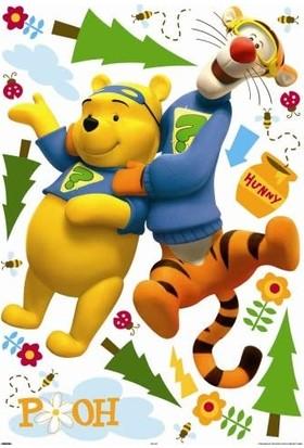 Decofun 41339 Disney Maxi Stickers My Friends Tigger ve Pooh
