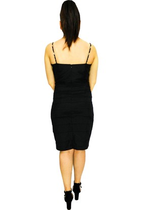 Proto Bayan Abiye Elbise Kısa 77003