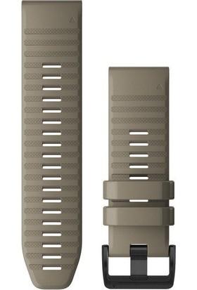 Garmin Quickfit 26 mm Fenix 6 Serisi Yedek Kayış - Kum Rengi