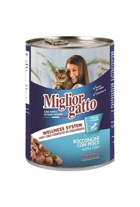 Miglior Gatto Balıklı Kedi Konservesi 405 gr 6'lı Set