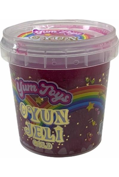 Yum Toys - Oyun Jeli Gold - Slime - 135 gr - Fuşya Kırmızı