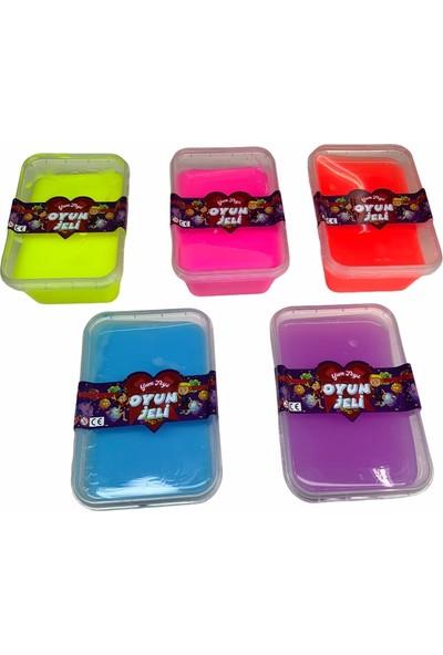 Yum Toys - Oyun Jeli - Slime - 400 gr - 5li Paket
