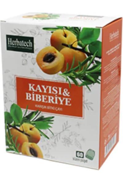 Herbatech Kayısı ve Biberiye Karışık Bitki Çayı