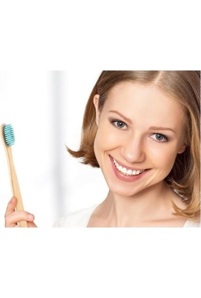 Antibakteriyel %100 Dogal Bambu Diş Fırçası Kutulu Taşınabilir Hijyenik Sağlıklı Hassas Diş ve Kırılgan Diş Etleri