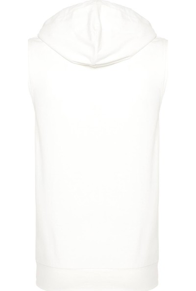 New Balance Erkek Beyaz Sweatshirt MPH1109-WT