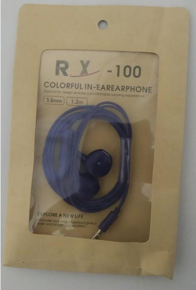 Turgut Ticaret Rx -100 Iphone Tipi Renkli Kablolu Kulaklık