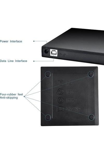 Lineon Harici USB 2.0 DVD Optik Sürücüsü