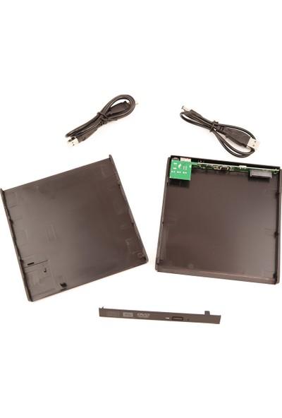 Lineon USB 2.0 Harici DVD Kutusu 9.5mm