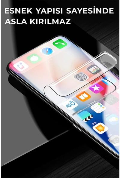 Kzy Xiaomi Redmi 9c Tam Kaplayan Fibernano Ekran Koruyucu Esnek Cam
