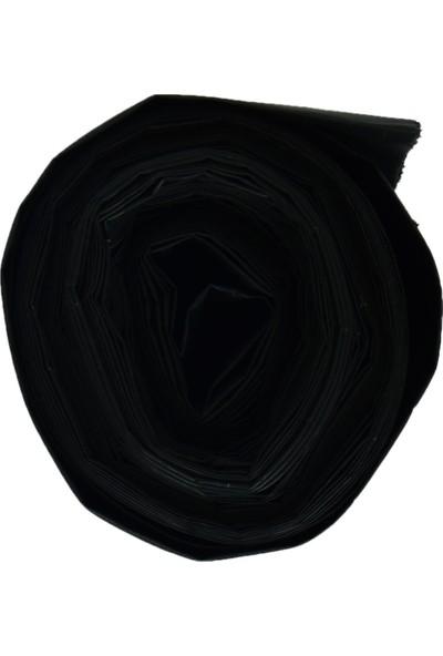 Polmix Çöp Torbası Ağır Sanayi Jumbo Boy 80X110CM 800GR 100MIKRON Siyah Rulo 10 Lu