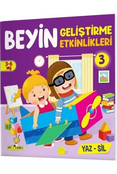 Ayas Eğitici Oyuncak Etkinliklerle Sağ Beyin Sol Beyin Geliştirme (3-6 Yaş) Yaz-Sil