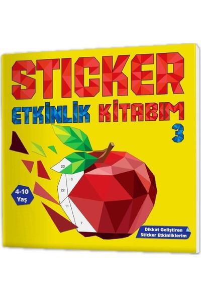 Ayas Eğitici Oyuncak 4-10 Yaş Sticker Etkinlik Kitabım Seti (Eğlenceli Sticker Etkinlikleriyle Dikkat Geliştirme Serisi)