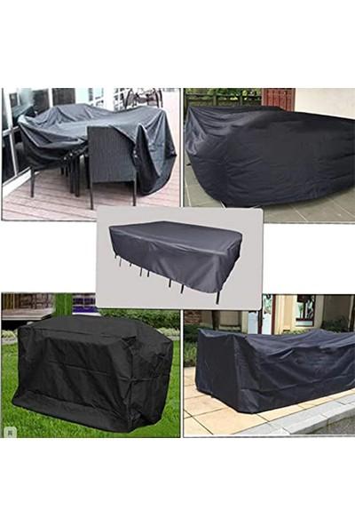Coverplus Bahçe Mobilya Koruma Örtüsü Su Geçirmez 300 x 200 x 80 cm - Siyah