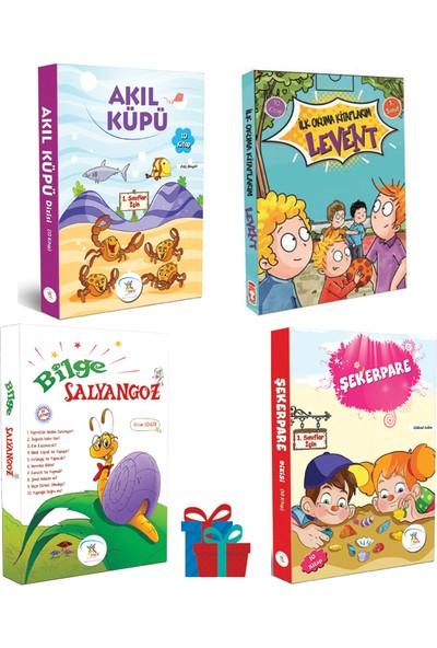 5 Renk Yayınevi 1. Sınıf Akıl Küpü-Şekerpare-Bilge Salyangoz Hikaye Seti- Timaş Çocuk Yayınları Levent Ilk Okuma Kitaplarım