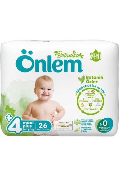 Önlem Botanika Bebek Bezi Avantaj Paket Maxi Plus 26'lı (9-16 Kg)
