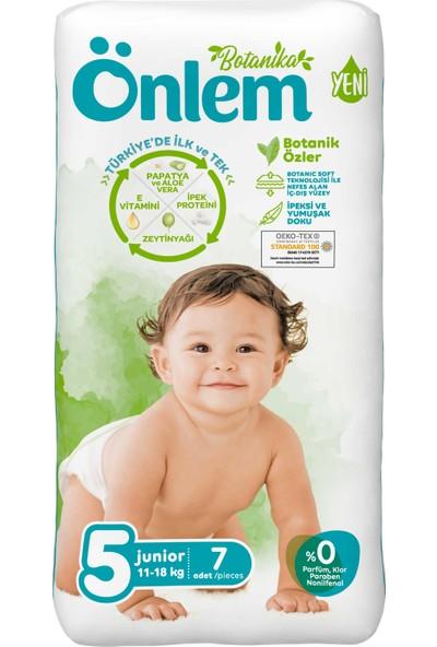 Önlem Botanika Bebek Bezi Deneme Paketi Junior 7'li (11-18 Kg)