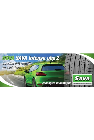 Sava 215/55 R17 98W Intensa Uhp2 Fp Yaz Lastiği (Üretim Yılı 2021)