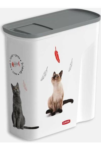 Evinizin Atölyesi Kedi Mama Saklama Kabı