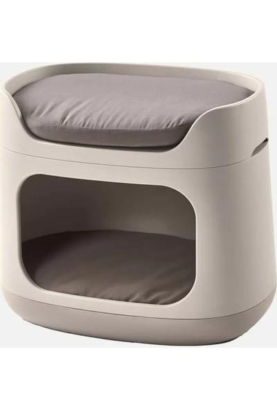 Evinizin Atölyesi Puflu Kedi Köpek Yatağı
