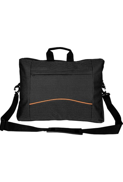 """Coverzone Omuz Askılı Laptop Notebook Çantası 17.3"""" Siyah"""