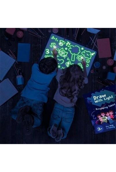 Buyfun LED Işık Çizim Kurulu Graffiti Doodle Boyama Tablet