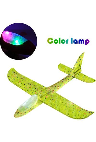 Buyfun Flaşlı Uçan Planör Uçakları LED Işık 18.9 Köpük