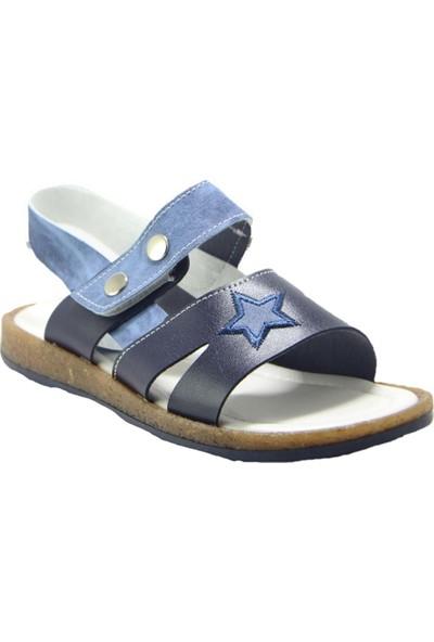 Şiringenç ST00723 Erkek Çocuk Sandalet - Lacivert - 34