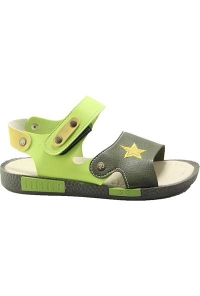 Şiringenç ST00723 Erkek Çocuk Sandalet - Yeşil - 31