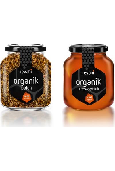 Revahi Organik Özel İkili Avantaj Paket (Bal & Polen)