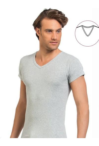 Elegant Öztaş Underwear 1042-A Erkek V Yaka Fanila