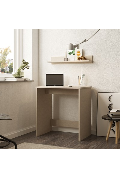 Robin Home Frodo Çalışma Masası Bilgisayar Masası Raflı Keçe