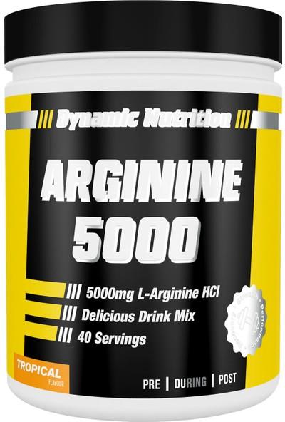 Dynamic Nutrition Dynamic Arginine 5000 320 gr - 40 Porsiyon Tropikal Aromalı