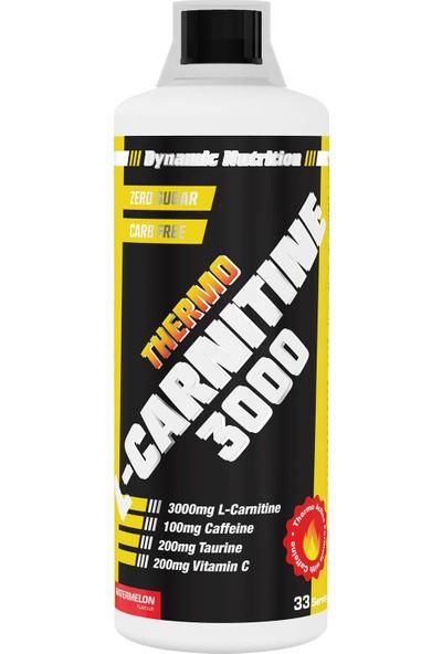 Dynamic Nutrition Dynamic Thermo L-Carnitine 3000 Mg 1000 ml Karpuz Aromalı