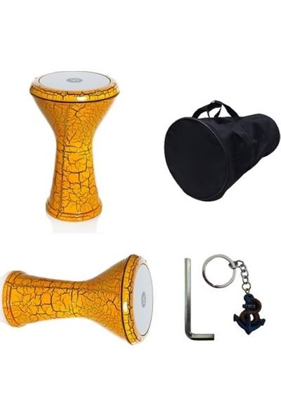 Euro Concepts Vatan Percussion Orijinal Döküm Darbuka (Taşıma Çantasın + Alyan Ayar Anahtarı + Anahtarlık)