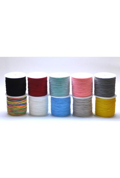 Bi Hızlı 10 Adet Paraşüt Ipi ( 10'ar Metre ) 10 Farklı Renk