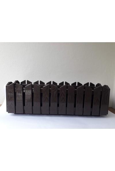 Emek Dekoratif 9 Lt Drenajlı Balkon Saksı 53 x 19 x 17 cm
