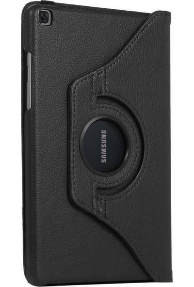 Eskilik Shop Samsung Galaxy Tab A7 2020 T500 T505 T507 10.4 Inç Yatay ve Dikey Standlı 360 Derece Döner Tablet Kılıf