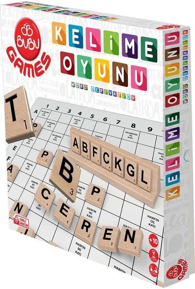Bu-Bu Games Ahşap Kelime Oyunu