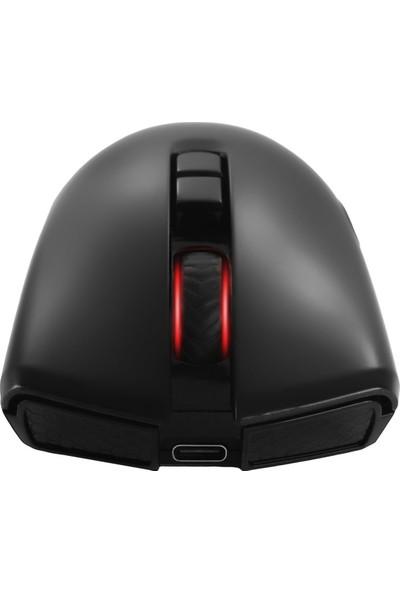 MF Product Strike 0611 Rgb Kablosuz Şarj Edilebilir Gaming Mouse Siyah