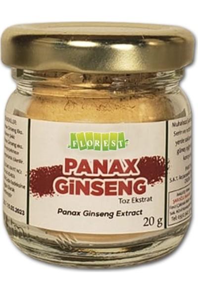 Florest Saf Ginseng Toz Ekstrakt 20 gr Panax Ginseng Extract Florest