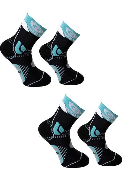 Ciwaa Kadın Spor Training Çorap 2'li CWA-3013