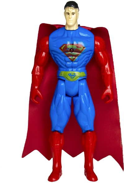 Superman Süper Kahraman Figür Oyuncak 23 cm Süperadam