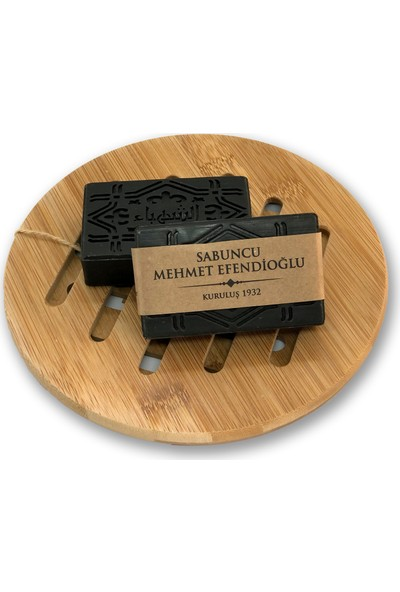 Sabuncu Mehmet Efendioğlu Aktif Karbon(Kömür) Sabunu 100GR