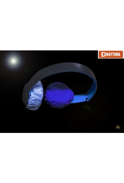 Daytona Hijyenik Tek Kullanımlık 7cm 20 Adet Kulaklık Süngeri Kılıfı Kulaklık Bonesi-Beyaz