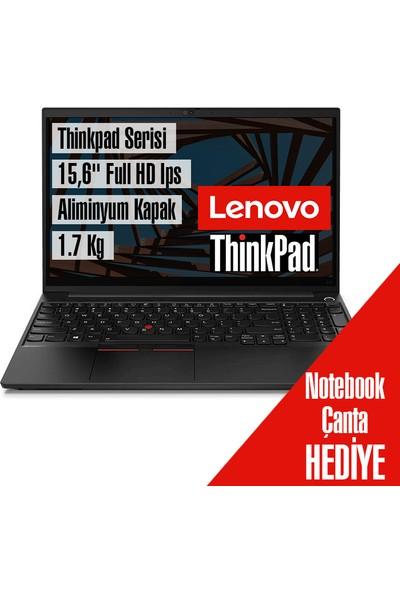 "Lenovo Thinkpad E15 Gen 2 Amd Ryzen 7 4700U 16GB 256GB SSD Windows 10 Pro 15.6"" Fhd Taşınabilir Bilgisayar 20T8001STX7"