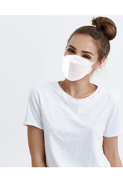 Coverplus Premium F95 Ffp2 Maske 10 Adet Kutulu - Beyaz